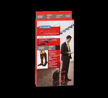 Image du produit Personnelle - Chaussette de contention opaques pour homme