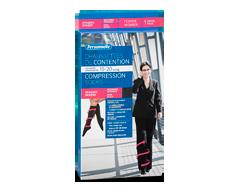 Image du produit Personnelle - Chaussettes de contention opaques, Women, Black, Average