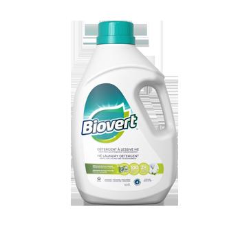 Biovert détergent HE, 4,43 L, coton frais