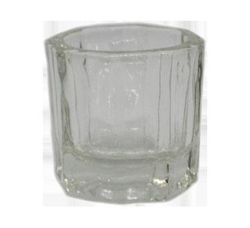 Pot à poudre cristal pour manucure, 1 unité