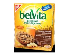 Image du produit Christie - Belvita tendres avoine, banane et chocolat, 250 g