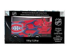 Image du produit LNH - Canadiens de Montréal zamboni tirelire clignotante et ensemble de bonbons, 150 g