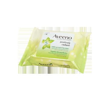 Image 2 du produit Aveeno - Positively Radiant lingettes démaquillantes, 25 unités