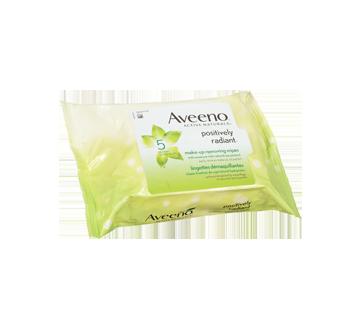 Image 3 du produit Aveeno - Positively Radiant lingettes démaquillantes, 25 unités