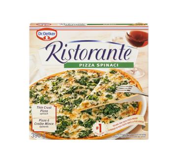 Ristorante pizza surgelée, 390 g, épinards