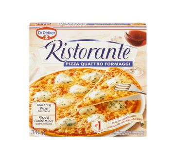 Ristorante pizza surgelée, 340 g, 4 fromages