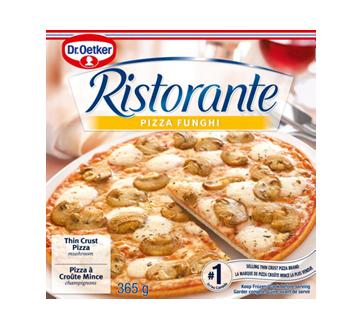 Ristorante pizza, 365 g, funghi
