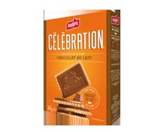 Image du produit Célébration - Biscuits au beurre avec tablette de chocolat au lait, 240 g