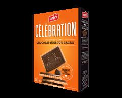 Image du produit Célébration - Biscuits au beurre avec tablette de chocolat noir 70% cacao, 240 g