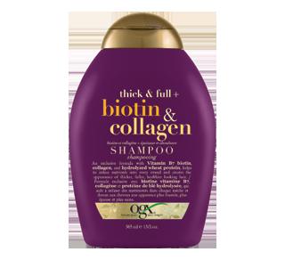 biotine et collagène, shampoing , 385 ml