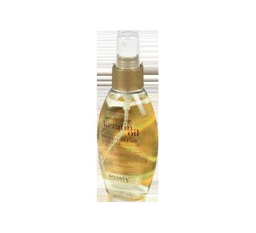 Huile de kératine, traitement réparateur instantané à l'huile légère, 118 ml