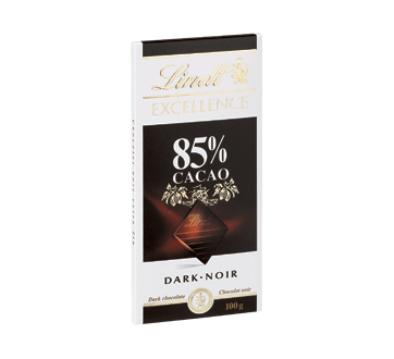 Lindt Excellence chocolat 85 % cacao, 100 g – Lindt