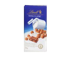 Image du produit Lindt - Swiss Classic chocolat au lait, 100 g, noisettes