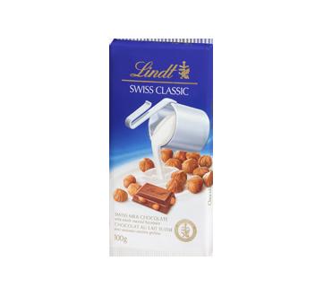 Swiss Classic chocolat au lait, 100 g, noisettes
