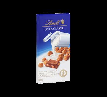 Image 2 du produit Lindt - Swiss Classic chocolat au lait, 100 g, noisettes