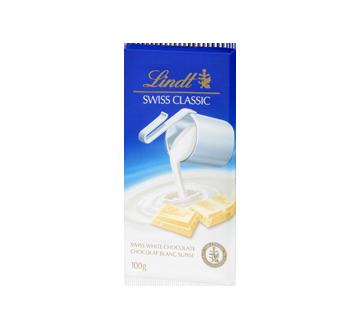 Lindt Swiss Classic chocolat blanc, 100 g