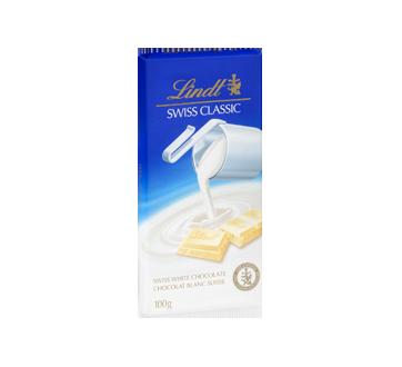 Image 2 du produit Lindt - Lindt Swiss Classic chocolat blanc, 100 g