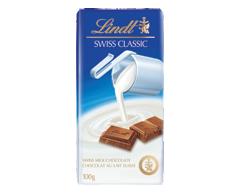 Image du produit Lindt - Swiss Classic chocolat au lait, 100 g