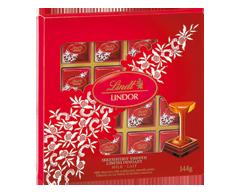 Image du produit Lindt - Lindor carrés au chocolat au lait, 144 g