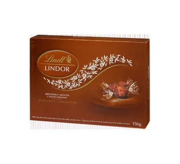 Lindor chocolat au lait avec noisettes, 156 g
