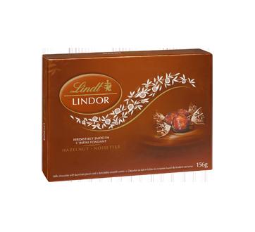 Image 2 du produit Lindt - Lindor chocolat au lait avec noisettes, 156 g