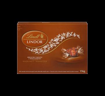 Image 3 du produit Lindt - Lindor chocolat au lait avec noisettes, 156 g