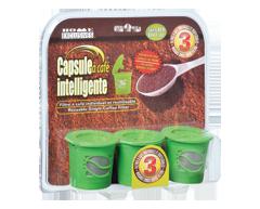 Image du produit Home Exclusives - Filtre à café individuel et réutilisable, 3 unités