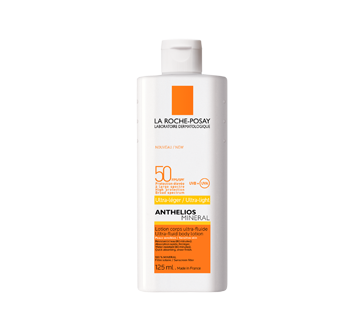 Anthelios Mineral lotion corps ultra-fluide FPS 50, 125 ml