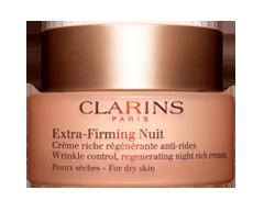 Image du produit Clarins - Extra-Firming Nuit crème riche régénérante anti-rides, 50 ml, peaux sèches