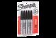Vignette du produit Sharpie - Marqueur permanent, 5 unités, noir