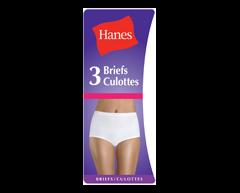 Image du produit Hanes - Culotte en coton, Large, White