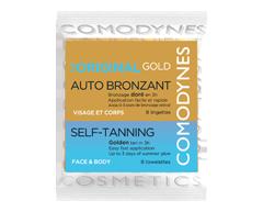 Image du produit Comodynes - Autobronzant couleur naturelle et uniforme, 8 lingettes