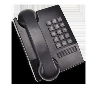 Téléphone à clavier, 1 unité, noir