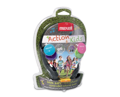 Image du produit Maxell - Action Kids casque d'écoute pour enfant