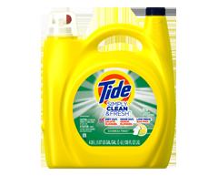 Image du produit Tide - Simply Clean and Fresh détergent à lessive liquide HE, 4,08 L, Daybreak Fresh