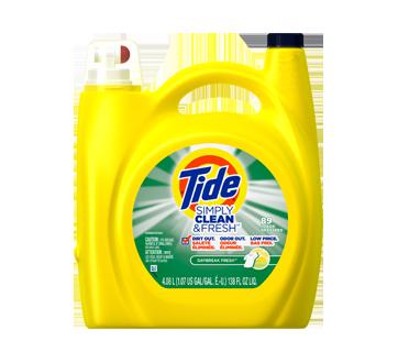 Simply Clean and Fresh détergent à lessive liquide HE, 4,08 L, Daybreak Fresh