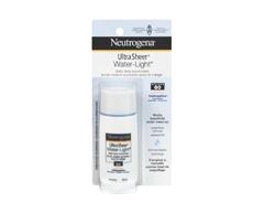 Image du produit Neutrogena - Ultra Sheer Water-Light écran solaire quotidien pour le visage FPS 60, 40 ml