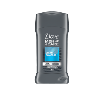 Image du produit Dove Men + Care - Antisudorifique, 76 g, le propre du confort