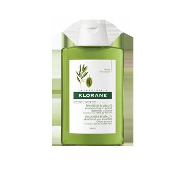 Shampooing à l'extrait essentiel d'olivier - Épaisseur et vitalité, 200 ml