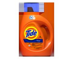 Image du produit Tide - Détergent à lessive liquide HE original, 1,09 L, original