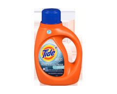 Image du produit Tide - HE Turbo Clean Eau Froide détergent à lessive liquide, 1,09 l, parfum frais