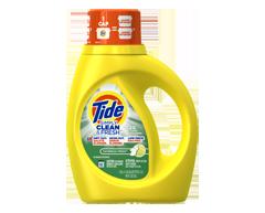 Image du produit Tide - Détergent à lessive liquide Simply Clean & Fresh, 1,18 L, Daybreak Fresh