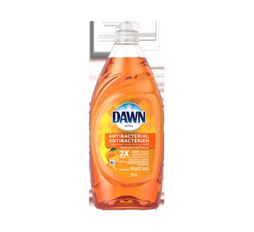 Ultra détergent à vaisselle liquide antibactérien pour les mains, 532 ml, orange