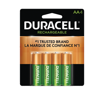 Piles rechargeables aa 4 piles duracell rechargeable - Pile aa rechargeable ...