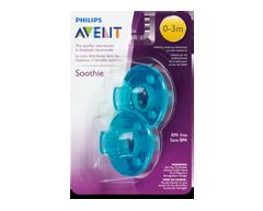 Image du produit Avent - Soothie 0-3 mois sucette, 2 unités