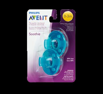 Soothie 0-3 mois sucette, 2 unités