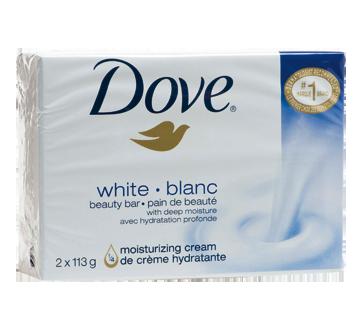 Image 2 du produit Dove - Pain de beauté, 2 x 113 g, blanc