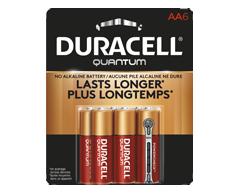 Image du produit Duracell - Piles alcalines AA Quantum, 6 piles