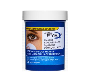 Tampons démaquillants pour le maquillage hydrofuge, 78 unités