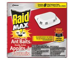 Image du produit Raid - Appâts à fourmis double action, 8 unités